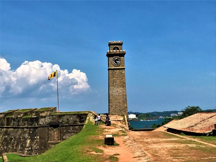 Galle Fort Clock Tower, is one of the iconic things to see in Galle