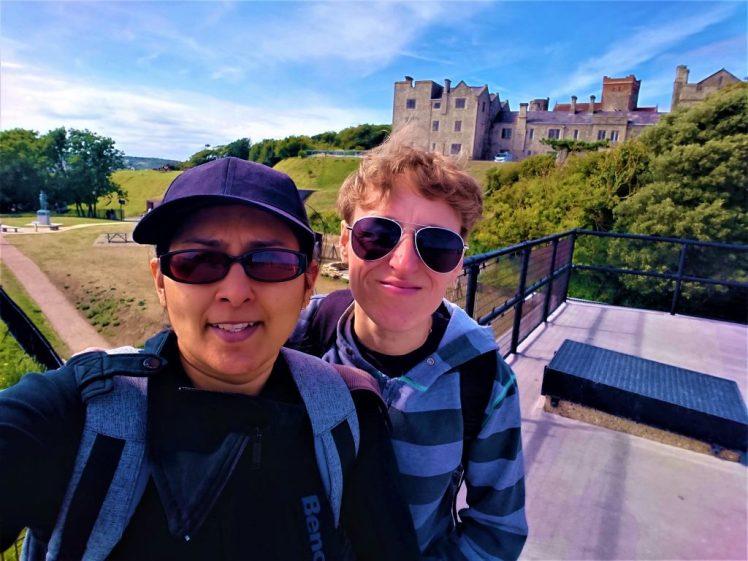 Bev & Shams Adventures at Dover Castle - Ultimate travel guide to UK