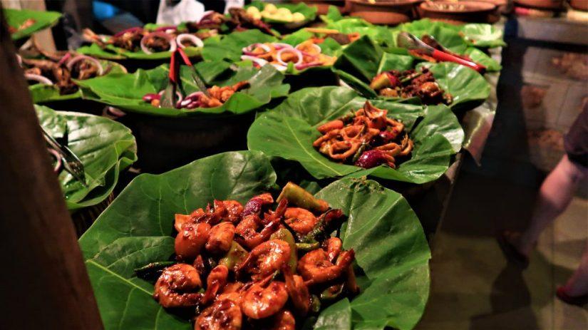 Delicious food at Nelum Kole