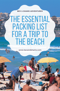 The Essential Packing List for a Trip to the Beach