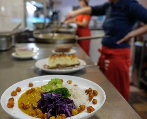 restaurant vegan à Bruxelles l'eau chaude