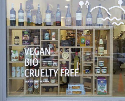 vegan winkel brussel v.gan