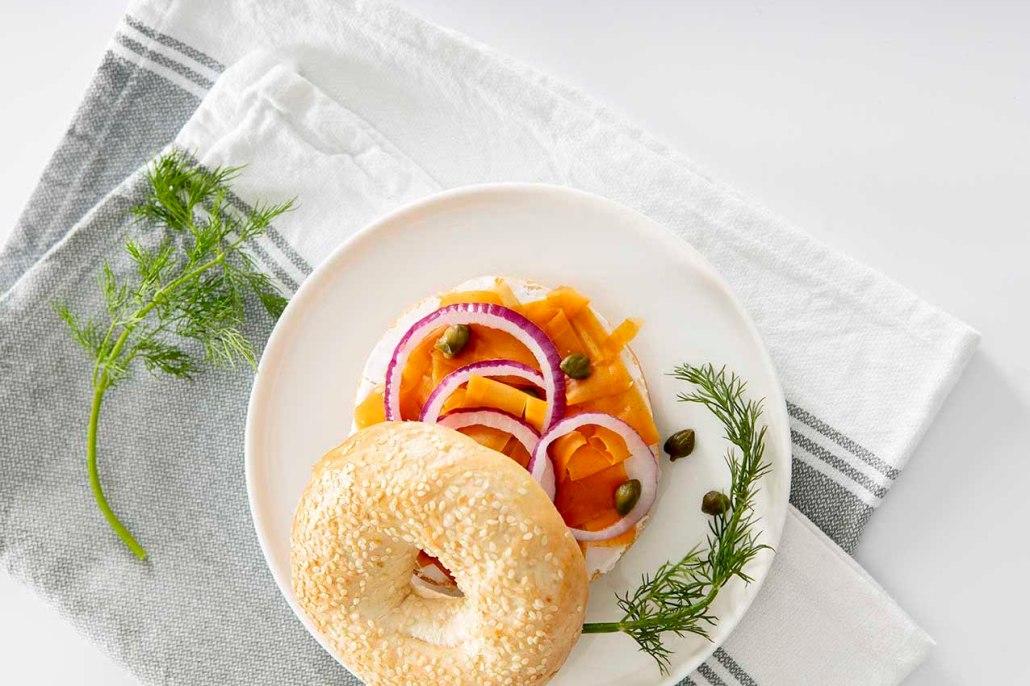 Recept veganistische gerookte zalm van wortel