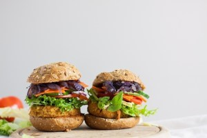 recette vegane burgers de pois chiches
