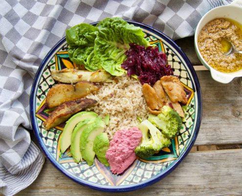 recept vegan bowl
