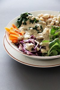 veganistische salad bowl