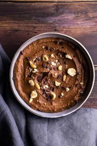 recette végétalienne houmous au chocolat