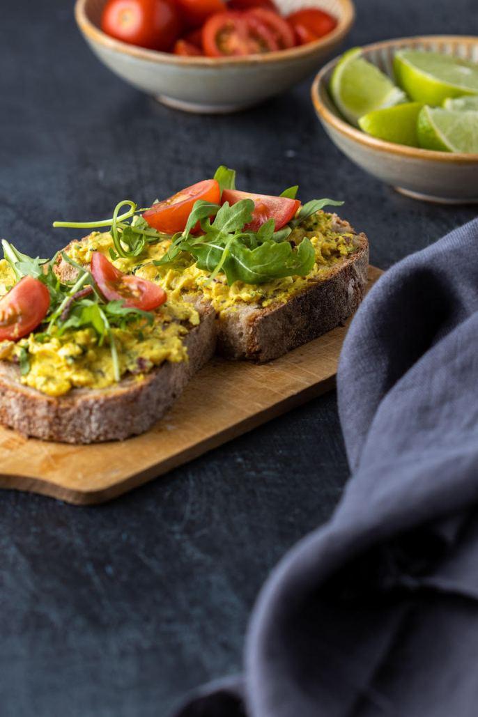 salade sans thon végétalienne