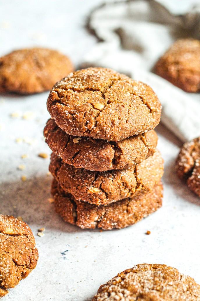 recette biscuits à la cannelle vegan et sans gluten