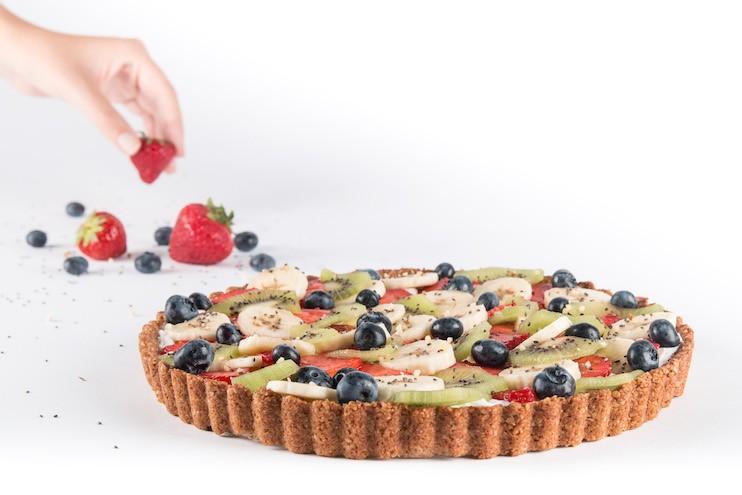vegan taart bestellen Madam Bakster