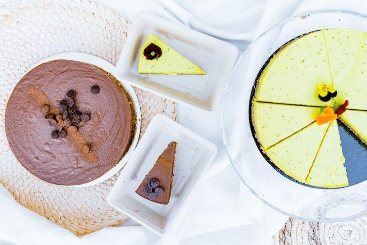 gâteaux véganes Faim Finit Schoten
