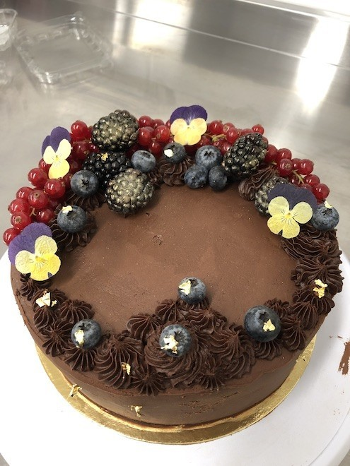gâteaux véganes Sarah's Vegan Bakery Fleurus
