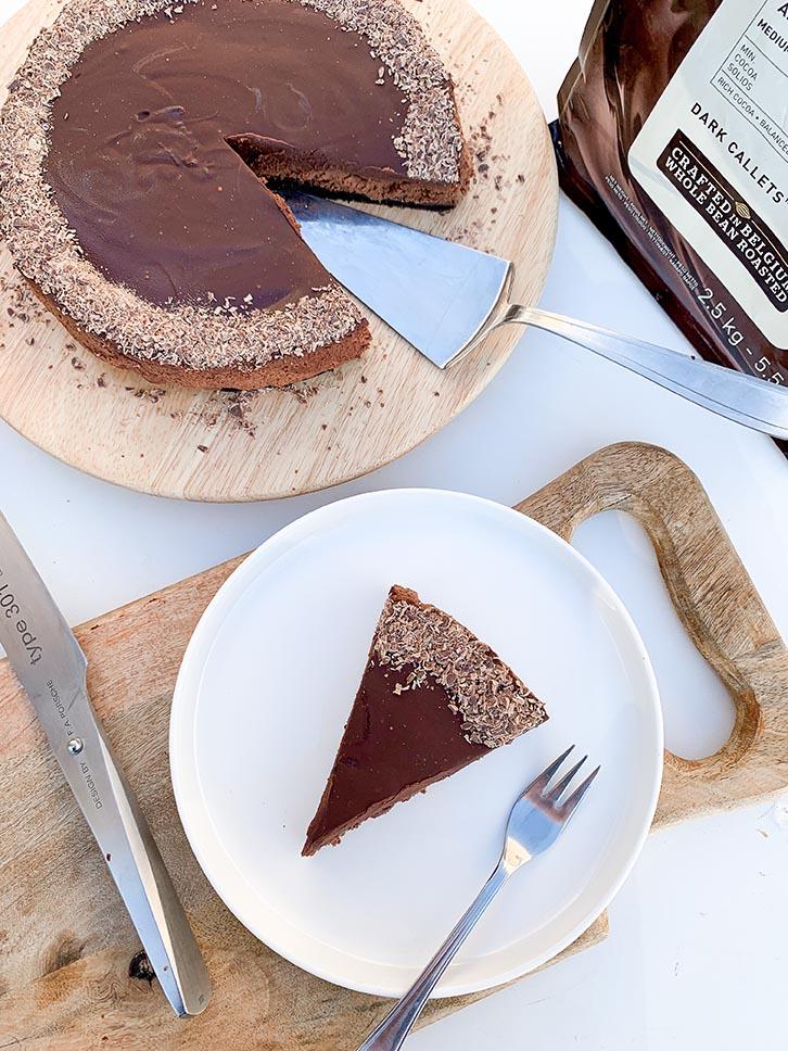 taart met oreokoekjes