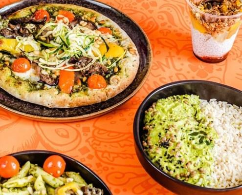 repas végétalienne Vegan Masters