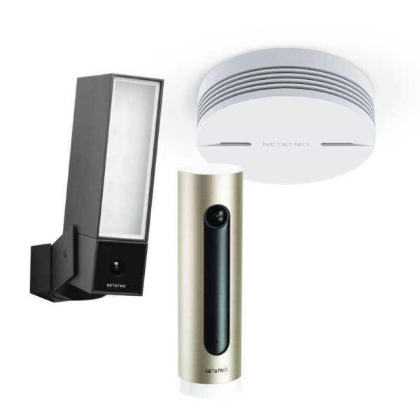 Netatmo Security Kit - Presence, Welcome en Smoke
