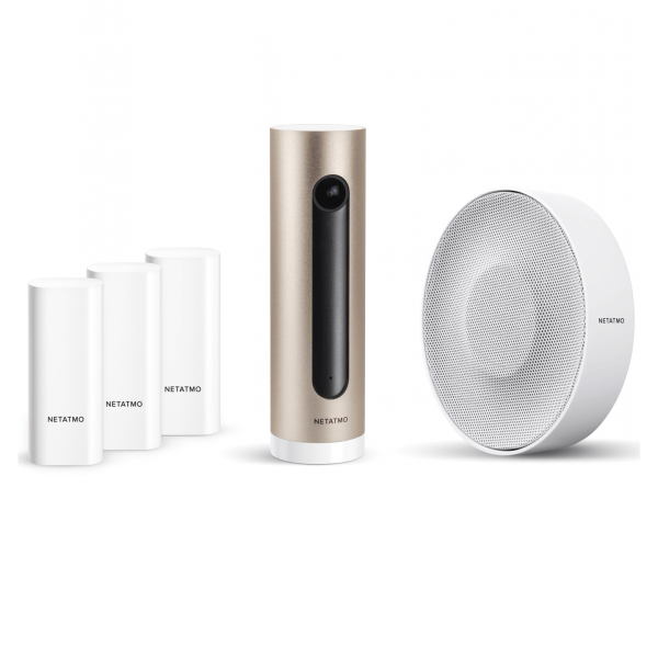 Netatmo Security Pack - Slim Video Alarmsysteem