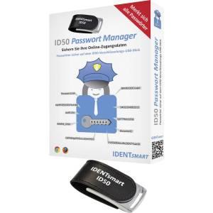 IDENTsmart ID50 Password-Safe TOP SECRET Passwordmanager USB-stick