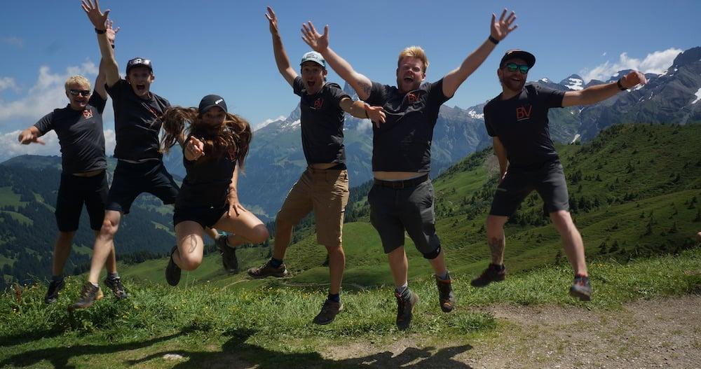 BeVenturesome Staff| school trips to alps