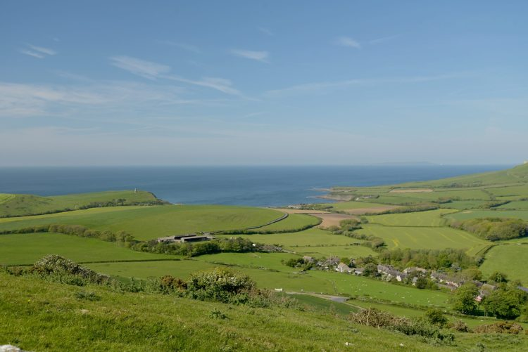 View from Swyre Head