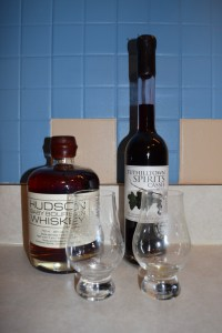 In addition to the tasting glasses, I picked up a bottle of Hudson Baby Bourbon and Cassis Liqueur at the company's Tuthiltown distillery in Gardiner.
