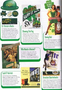 Page 2 of the first quarter merchandising guide from 1996.