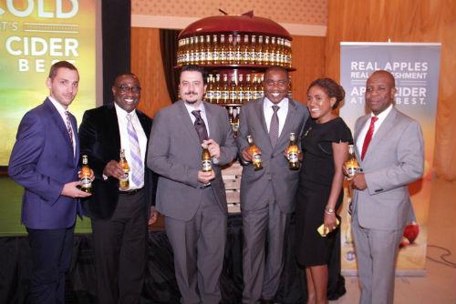 Marketing Director, Franco Maria Maggi, Sales Director, NB Plc, Hubert Eze, Senior Strategy Manager, NB, Tony Agenmonmen, Senior Brand Manager, Ngozi Nkwoji