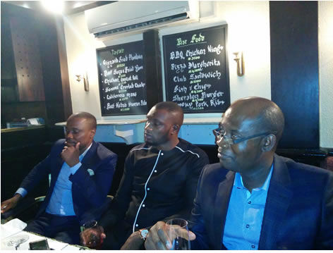 Launch of Almondia Brandy at Ikeja Sheraton