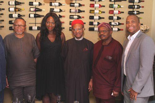 Darkey Africa, Ronke Sobodu, Emeka Anyaoku, Peter Fatoyinbo and Matome Mbatha