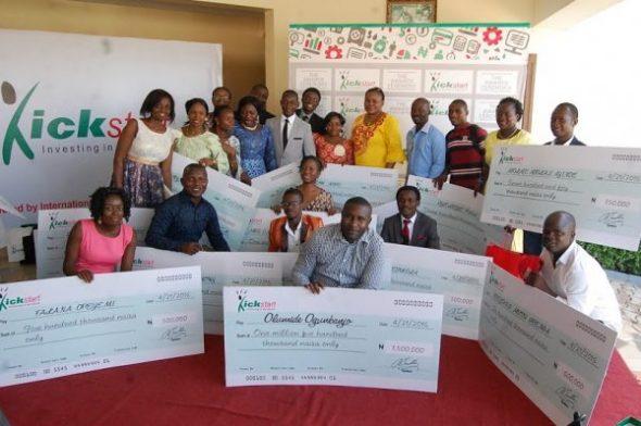 IBPLC Kickstart winners