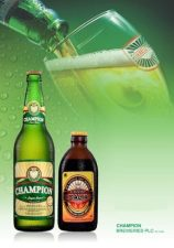 champion lager and champ malta