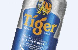 Tiger beer brand
