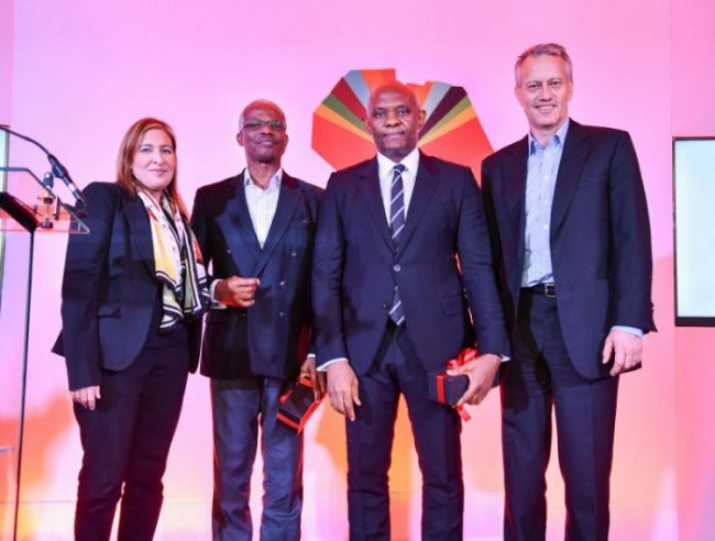 Coca-Cola CEO James quincey metts with Tony Elumelu, others in Nigeria