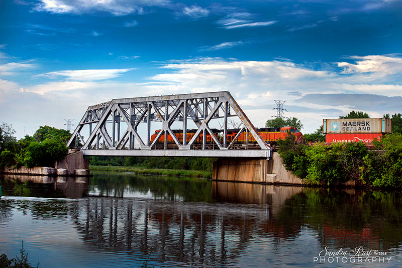 Joliet Historical Bridge Photography Series-Architectural Photography