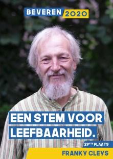 Franky Cleys - gepensionneerd, 35 jaar arbeider gemeente Beveren gewestprom Bond zonder Naam