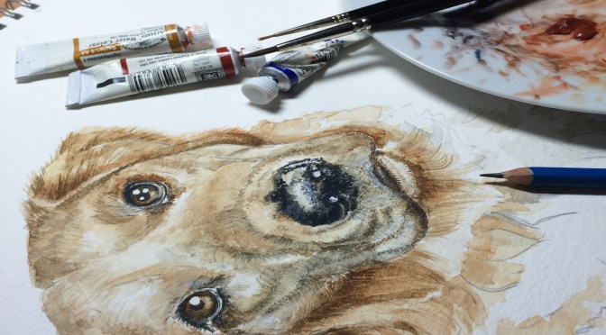 dog-painting-in-progress