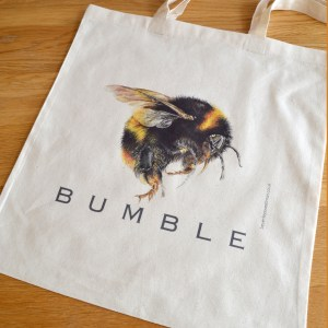 Bumble Bee cotton tote bag