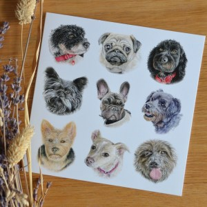 small-cute dogs-card