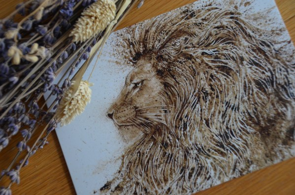 king-lion-card