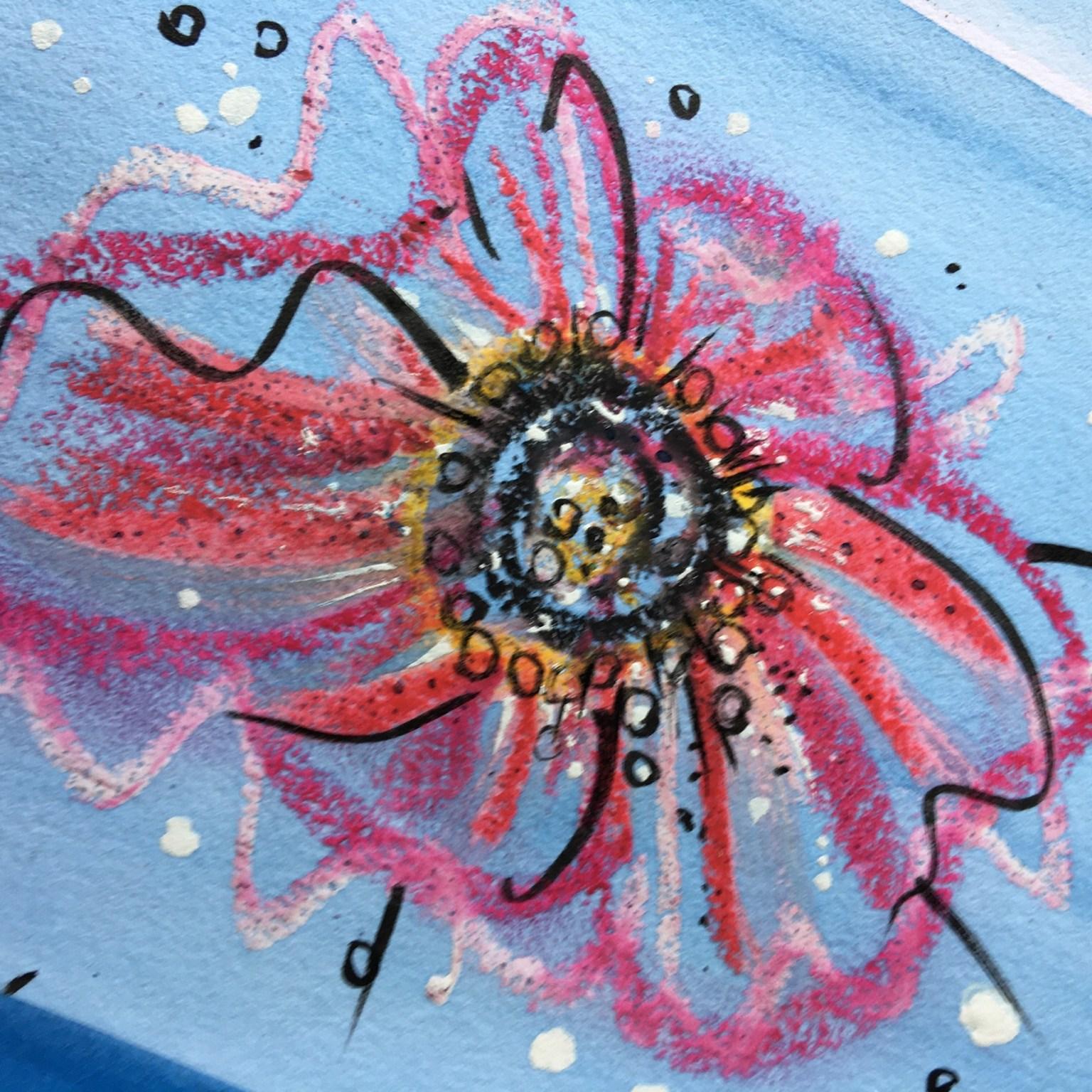 oil-pastel-flower