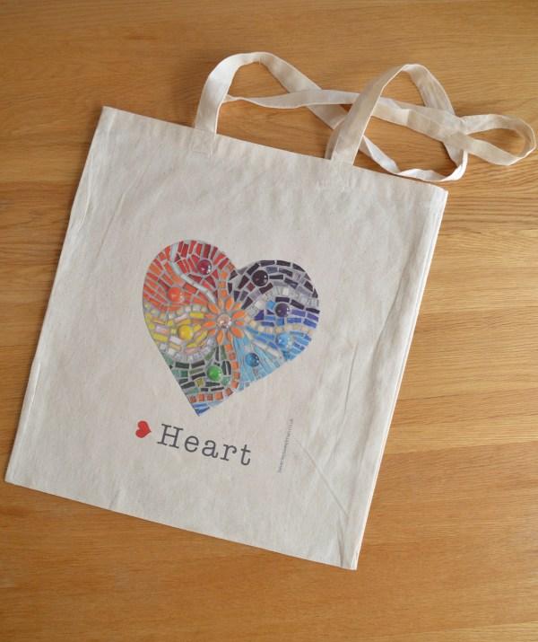 Rainbow heart bag 3