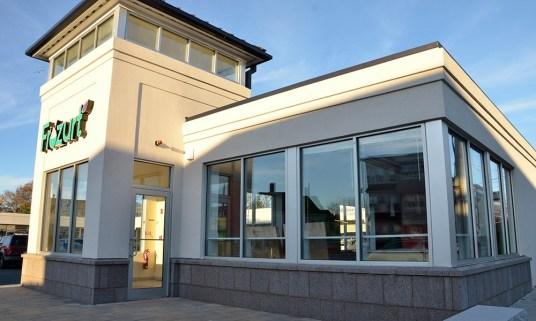 Frozurt - Storefront Glass Installation - Beverly Glass