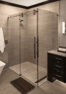 State-of-the-art shower doors from Beverly Glass