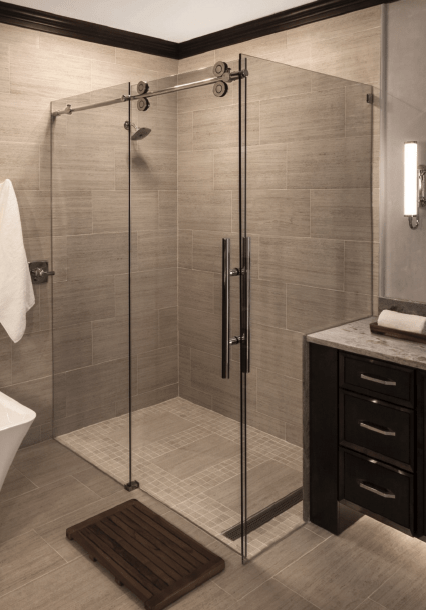 State-of-the-Art Shower Doors