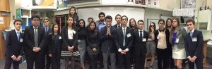 Active members of Beverly's Model United Nations club acted as committee chairs at the BHMUN conference.