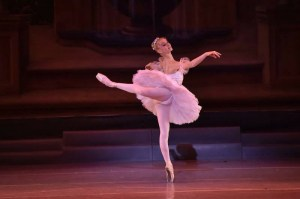 "Love dances as Clara in the ""Nutcracker"". Photo courtsy of: DAVE FRIEDMAN."