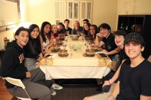 """""""This year was my first year celebrating Friendsgiving, usually I just spend time with family and only family. I was fortunate enough to spend time with so many of my close friends and it was incredible. This was one of the greatest nights ever because I was able to connect with all my close friends, and become closer,"""" junior Ben Gold said."""