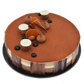 Trio Chocolate birthday Cake