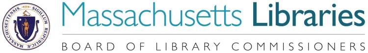 Logo for the Massachusetts Board of Library Commissioners