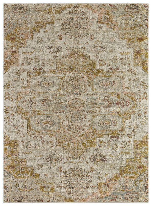 Beverly rug alcantras collection beige and cream area rug g2856