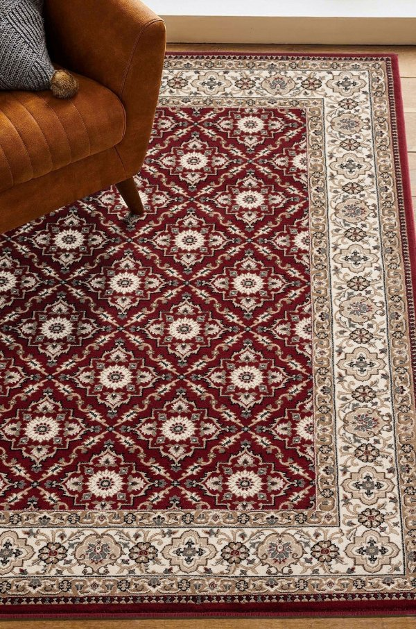 Beverly rug antique collection vintage area rug 2785 red
